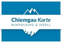 Chiemgau Karte Ruhpolding-Inzell